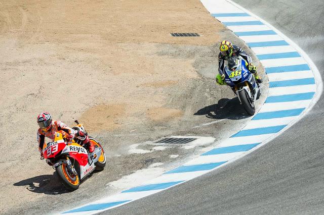 Satu persatu rekor Valentino Rossi pun terlewati
