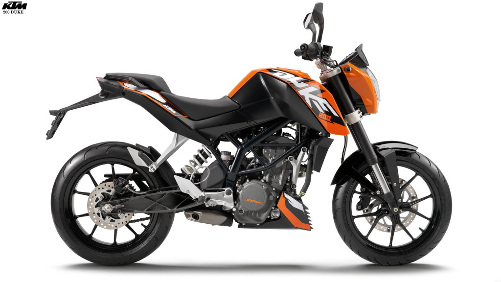 KTM 200 Duke Completely Buil Up