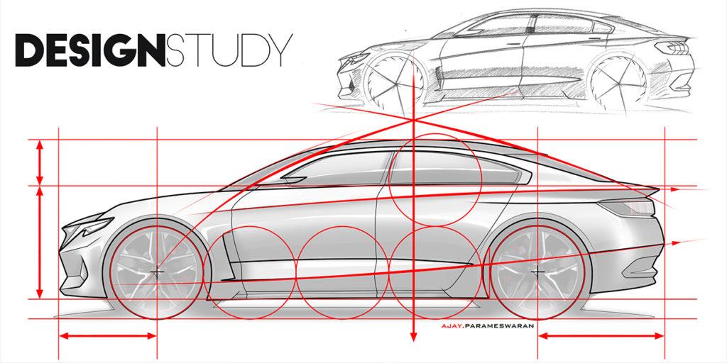 Studi desain peugeot 709