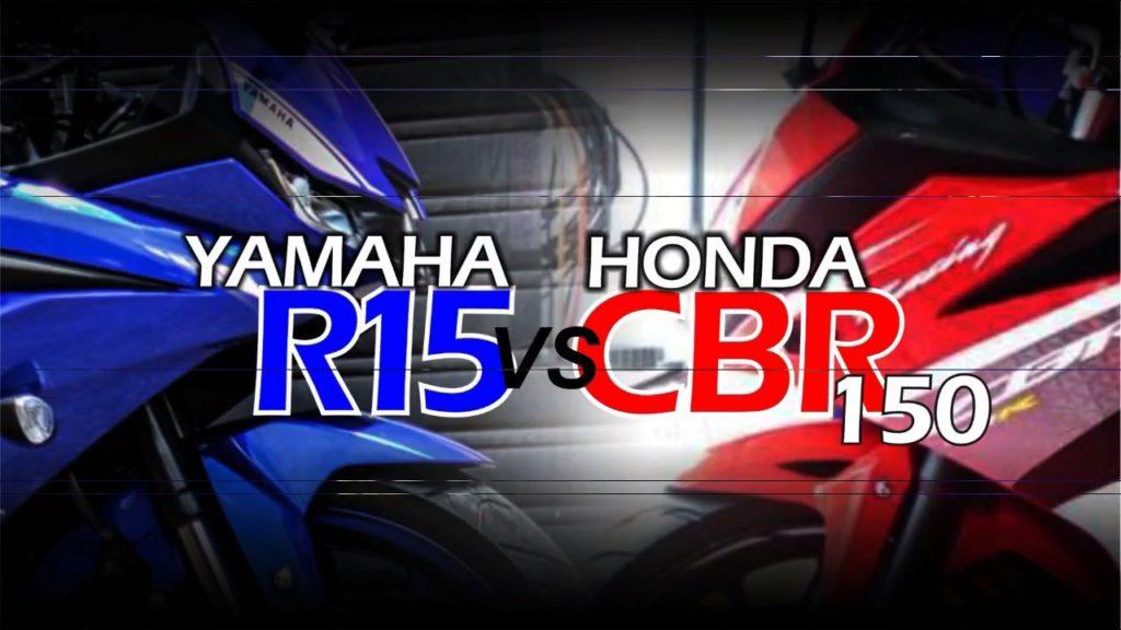 All New Honda CBR150R x All New Yamaha R15 V3.0