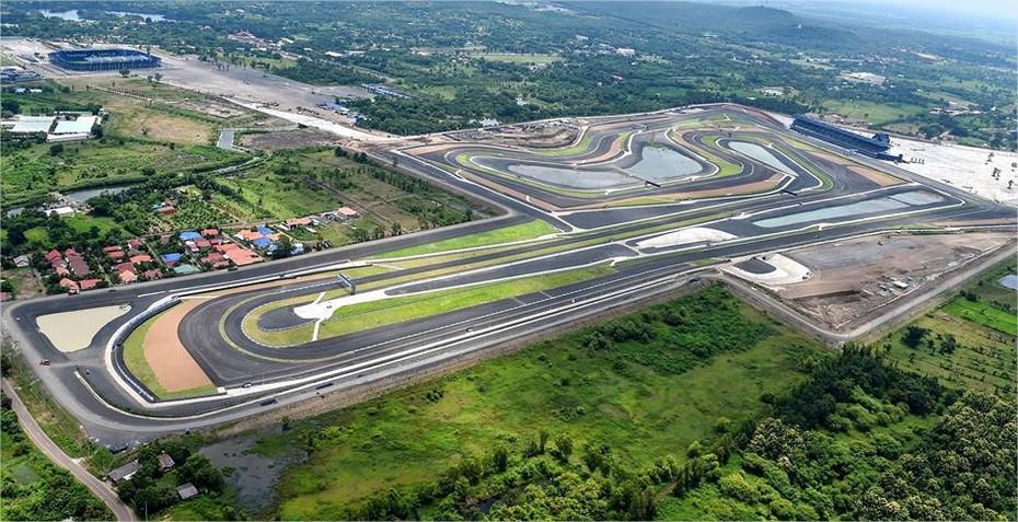 Sirkuit Buriram - Thailand akan menjadi salah satu penyelenggara seri MotoGP 2018