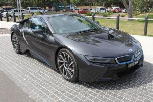 BMW i8 mass product