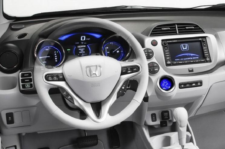 Interior Honda Jazz Hybrid 2017