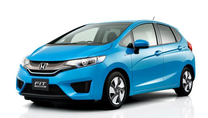 Honda Fit Hybrid 2017