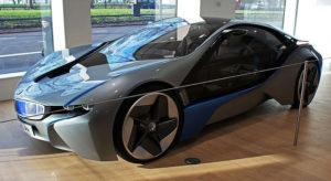 BMW i8 coupe prototype