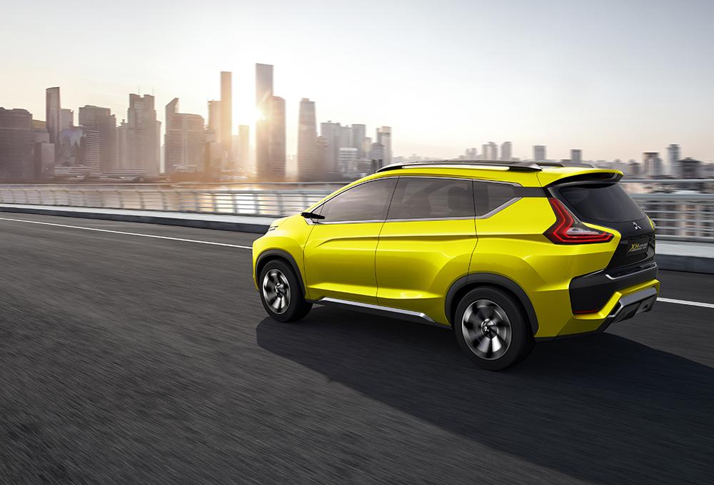 Mitsubishi Expander calon penantang duo Xenia - Avanza, lahir dari Mitsubishi XM Concept