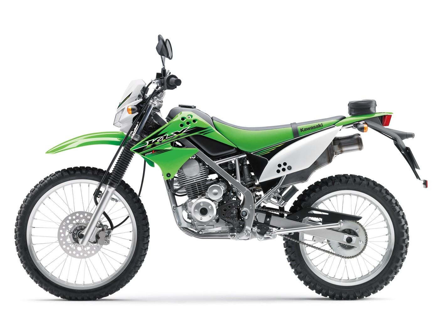 Kawasaki KLX150 aktor tunggal di segmen enduro aka. kelas garuk tanah