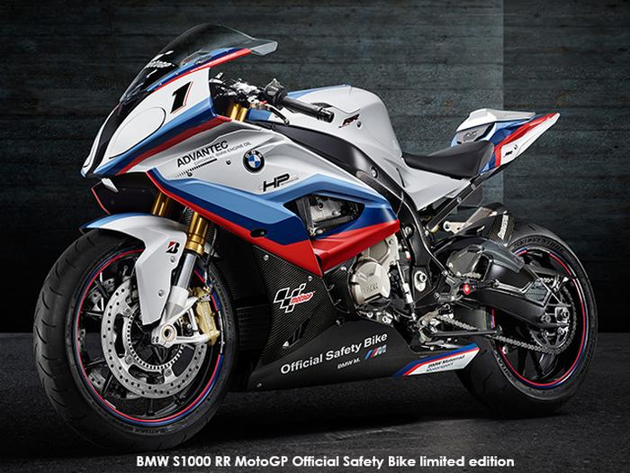 BMW S1000RR MotoGP Official Safety Bike
