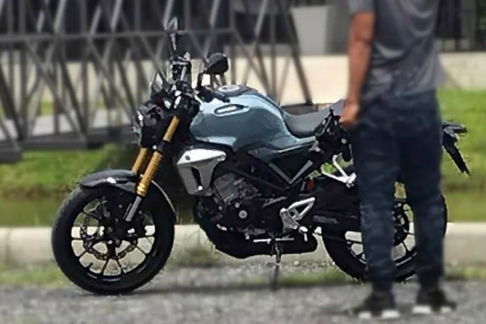 Honda 150SS Racer terpantau di Thailand