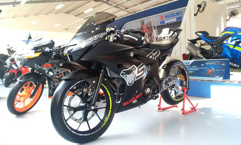 Suzuki GSX R150 powered with SARP gagal tampil di IRS seri-03