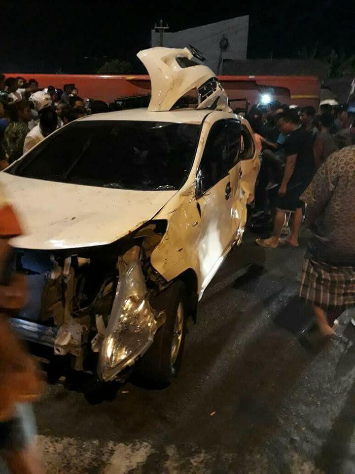 Kecelakaan PO Indonesia di proliman Kudus (foto : fb)