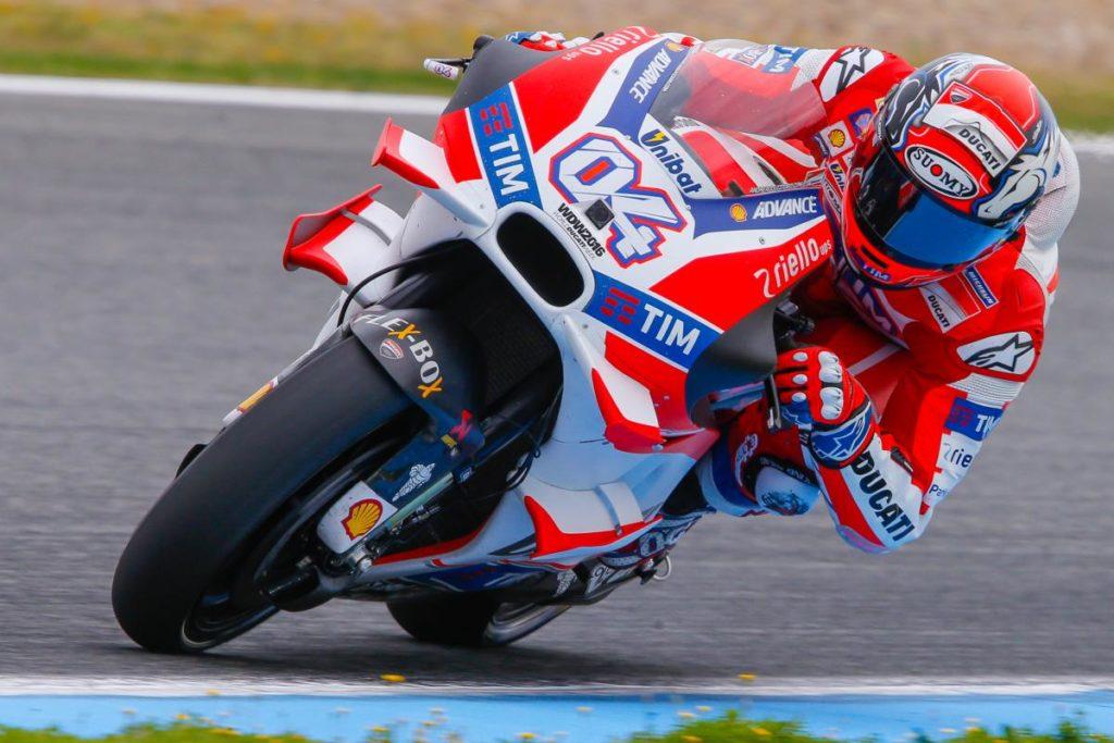 Pembalap terakhir (Ducati) yang memenangkan MalaysianGP (2016)