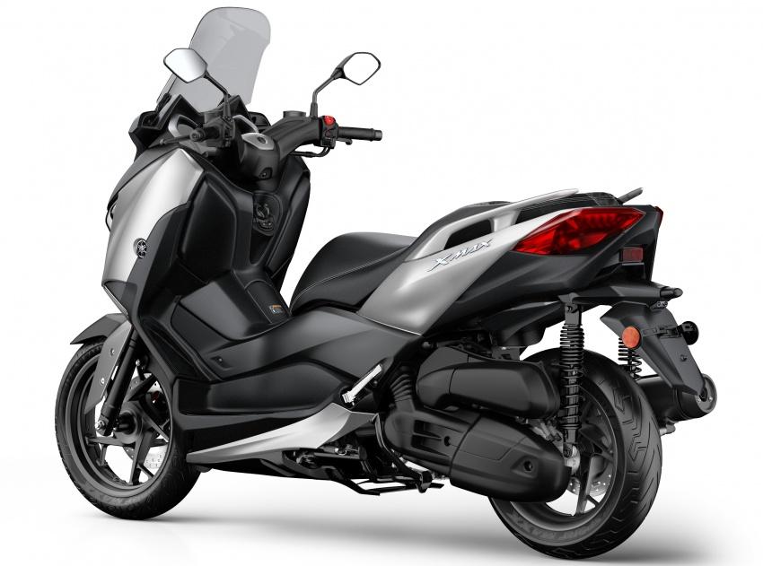 Yamaha X-Max 125, scooter maxi berkubikasi kecil