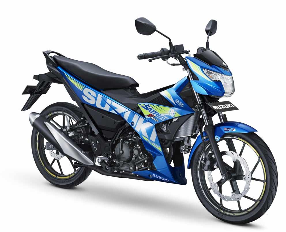 Metallic Triton Blue khas Suzuki