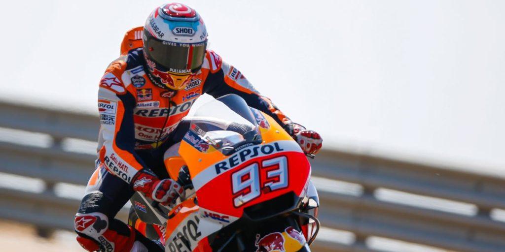 Marc Marquez Juara Aragon