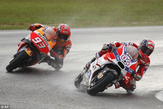 Marc Marquez bakal dikeroyok trio Ducati