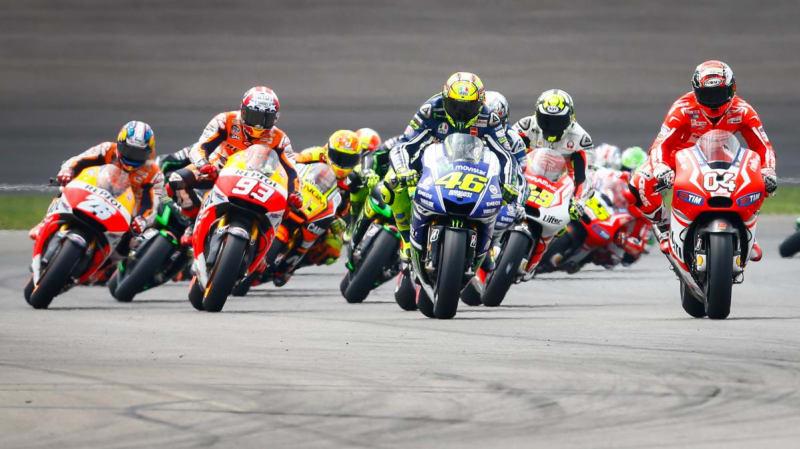 Kerinduan menikmati secara live aksi-aksi para rider motoGP begitu mendalam