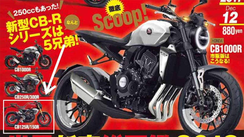 Honda CB150R Xmotion mewakili clan CB kubikasi kecil, muncul di cover terbaru majalah Young Machine