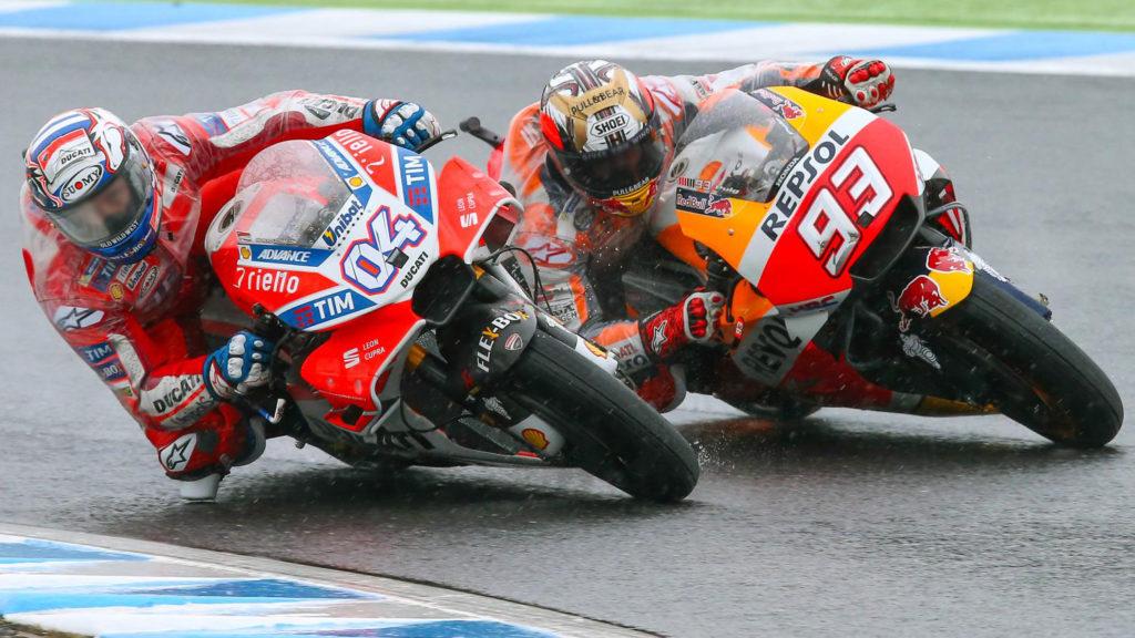Marc Marquez gagal juara di lap terakhir