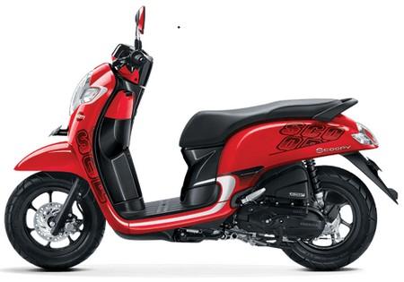 Honda Scoopy terbaru, lebih cantik