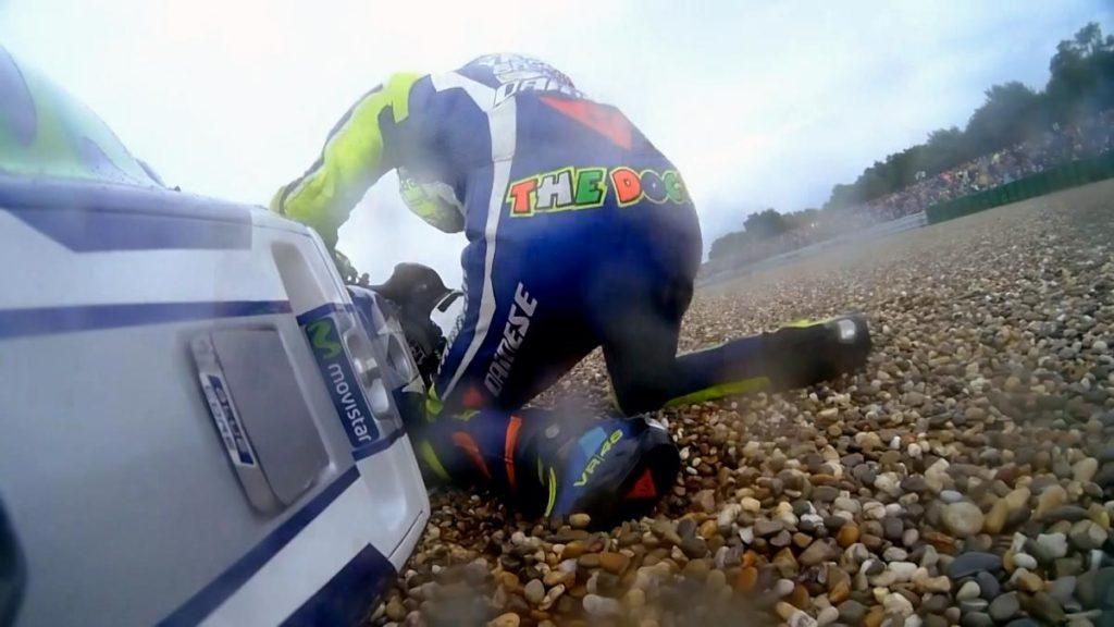 Untuk kesekian kalinya Valentino Rossi harus mengubur impiannya untuk mengoleksi gelar juara dunia motoGP 10x