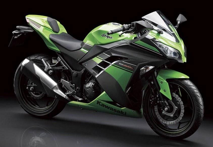 Kawasaki Ninja 250 raja sport fairing seperempat liter