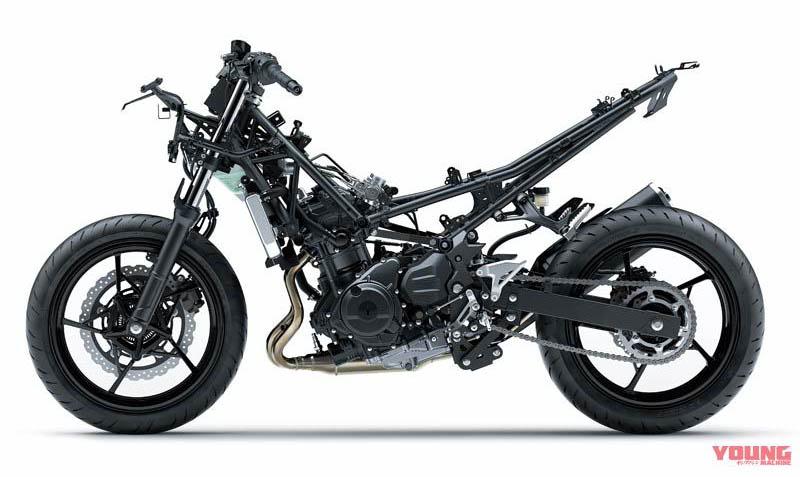 Kawasaki masih mempertahankan suspensi depan model teleskopik, tak terpengaruh USD Honda CBR250RR