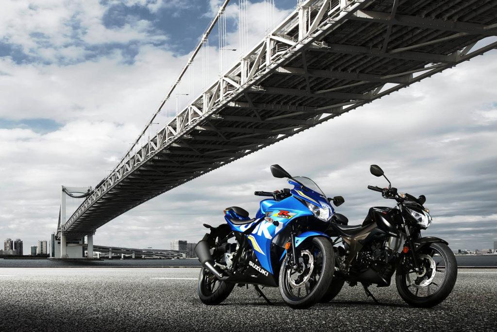 Di Eropa & Jepang, Suzuki GSX Series memiliki varian 125cc
