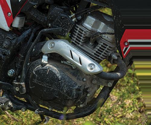 Mesin Verza yang nemplok di Honda CRF150 seringkali jadi bahan olokan
