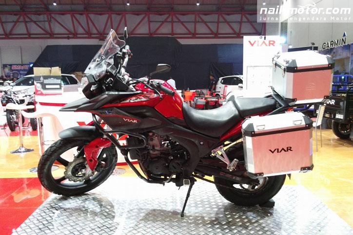 Viar Vortex 250, Motor Adventure dari kota lumpia - Semarang