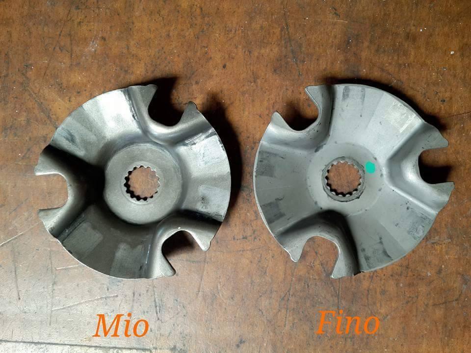 Ganti tutup roller Yamaha Mio dengan penutup roller milik Yamaha Fino