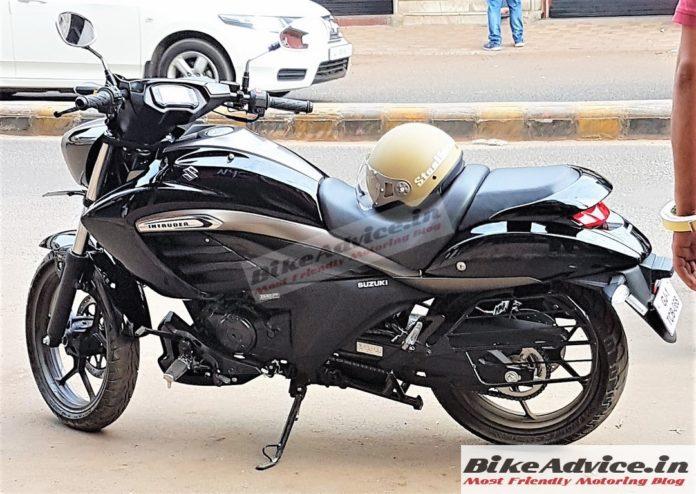 Suzuki Intruder 150, segera rilis di India