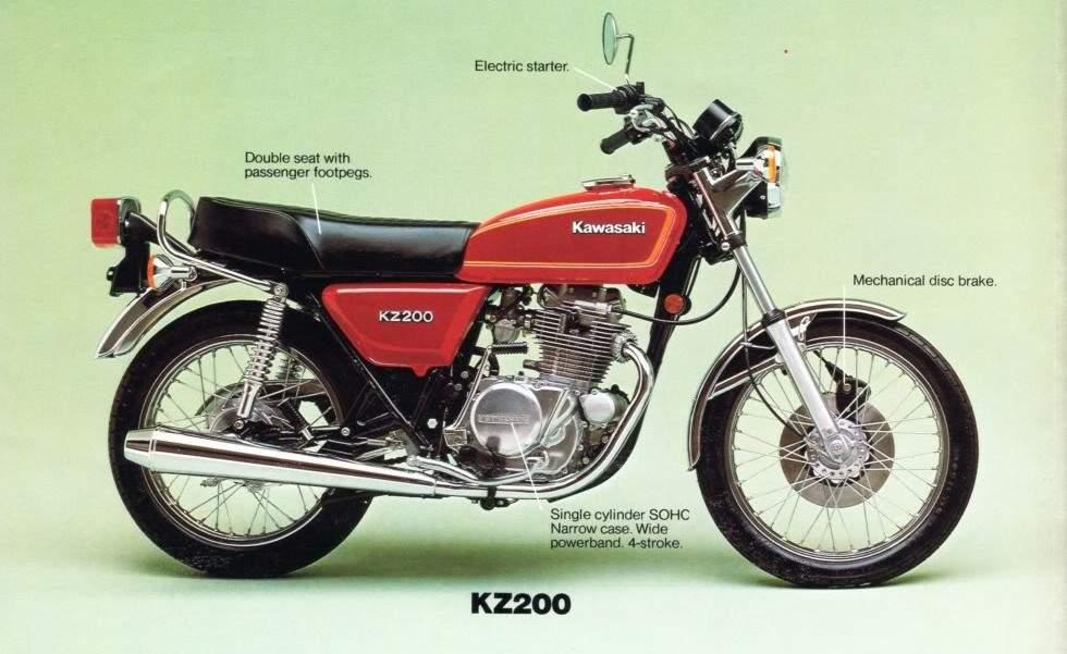 Kawasaki Bonter Mersy 200, KZ200