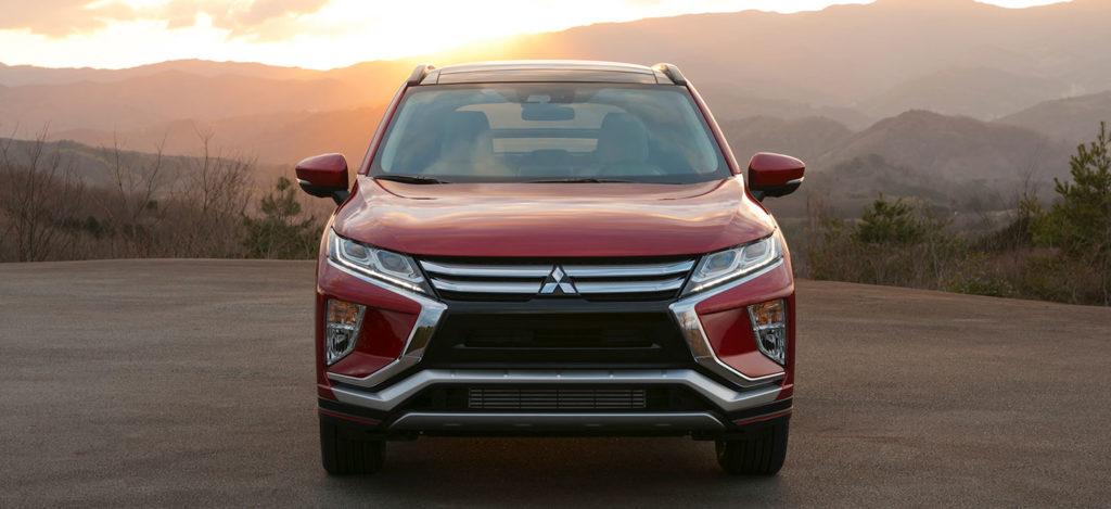 Bentuk facia Mitsubishi Eclipse Cross ini serupa dengan produk Mitsubishi