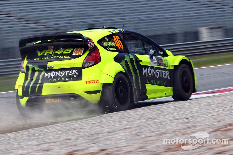 Tahun 2016 kemarin Valentino Rossi sukses memenangi Monza Rally