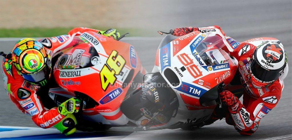 Rossi vs Lorenzo, perseteruan dua rider ini selalu menarik untuk diulas
