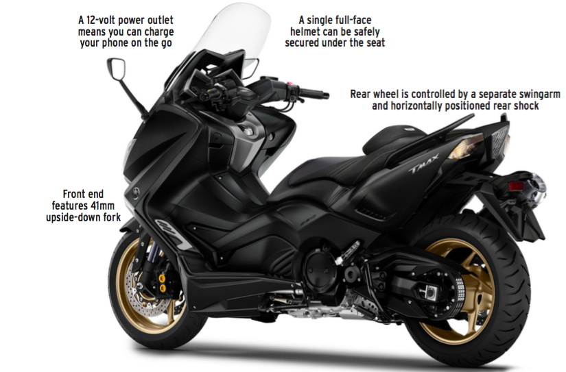 Fiture Yamaha TMax DX