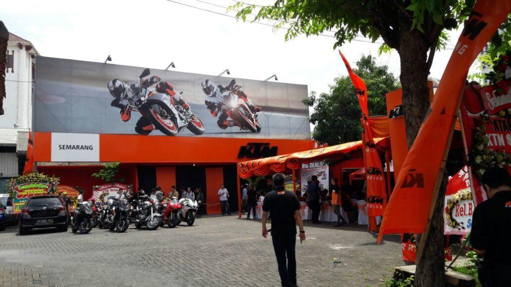 Representative KTM di Semarang resmi dibuka