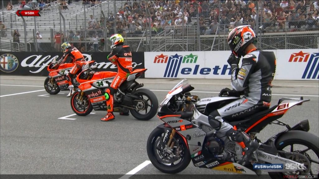 World Superbikes (WSBK) race