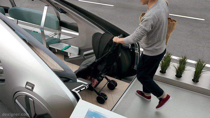 Renault EZ-GO, calon self-driving taksi masa depan